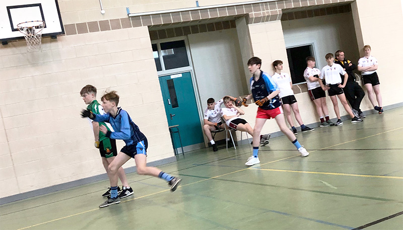 St. Mary's pupils enjoyed an excellent opportunity to further develop their Handball skills