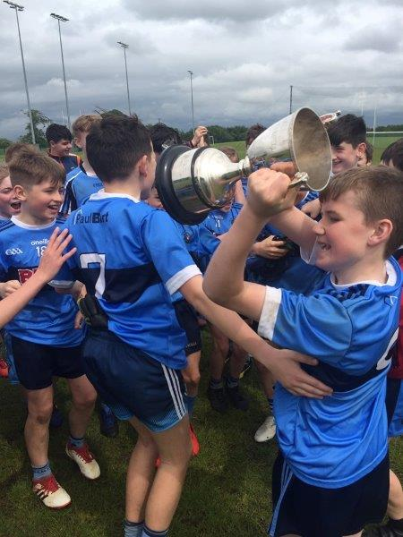 Jubilant scenes as St. mary's lift the cup