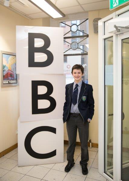 Mark Comer participated in BBC Radio 4's Pen Pals programm.