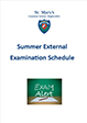 External Exam Schedule