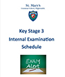 KS3 Internal Exam Schedule