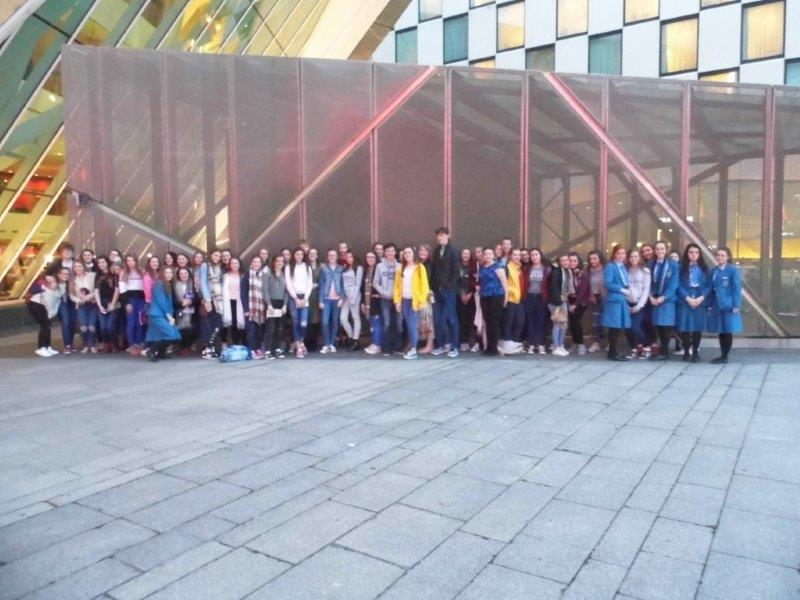 Pupils who attended the Miss Saigon Theatre Trip